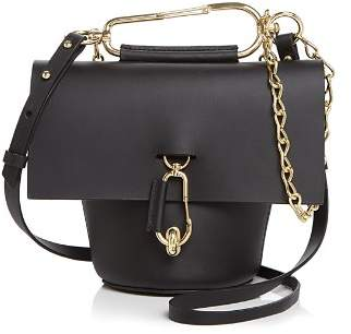 Zac Posen Belay Leather Crossbody with Chain Strap