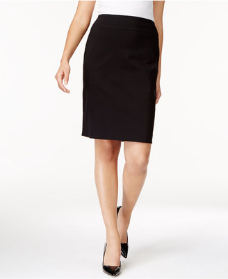 Alfani Pull-On Pencil Skirt, Created for Macy's $49.50 thestylecure.com
