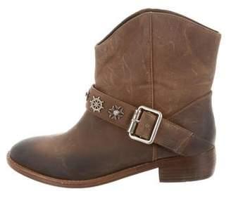Patrizia Pepe Leather Ankle Boots