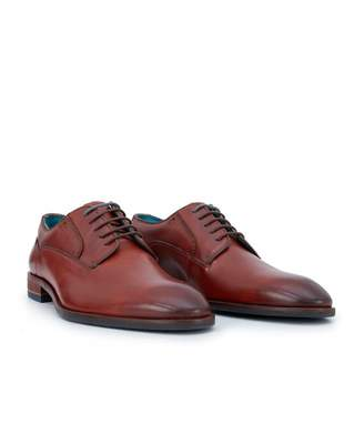 Ted Baker Parals Leather Derby Shoes Colour: TAN, Size: UK 7