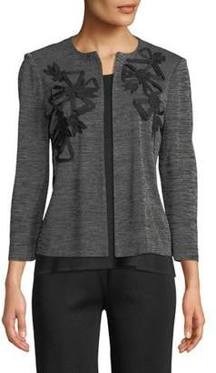 Misook 3/4-Sleeve Knit Jacket