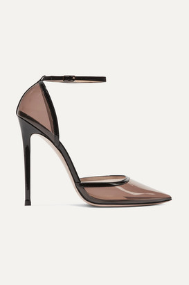 Gianvito Rossi 110 Pvc And Patent-leather Pumps