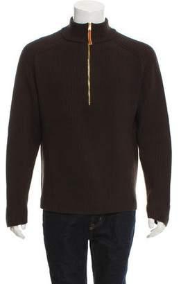 Gucci Half-Zip Wool Sweater