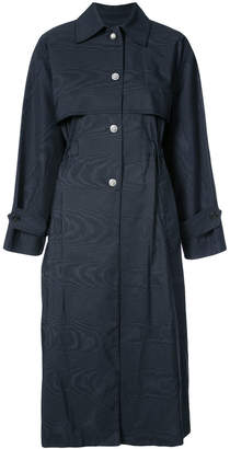 ADAM by Adam Lippes button-embellished trench coat