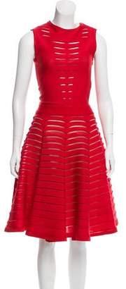 Maison Rabih Kayrouz Cutout Flare Dress