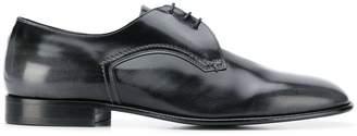 Maison Margiela distressed detail Derby shoes