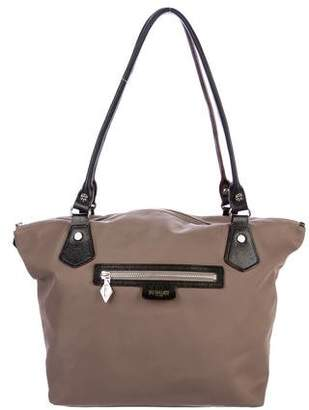 MZ Wallace Leather-Trimmed Chelsea Tote