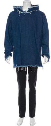 Marques Almeida Marques' Almeida Distressed Hoodie Sweater