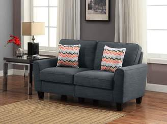 Serta at Home CR46293P RTA Vivienne Collection, 61-Inch Fabric Loveseat Sofa