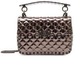 Valentino Polymeric Studded Shoulder Bag