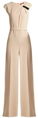 Max Mara Ginninco Jumpsuit - Womens - Cream