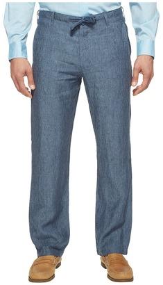 Perry Ellis Drawstring Linen Pants $79.50 thestylecure.com
