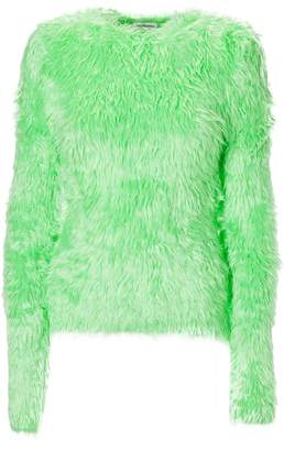 Balenciaga Fur Sweater