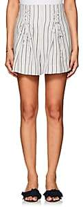 Zimmermann WOMEN'S STRIPED LINEN SHORTS