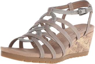 LifeStride Women's Neva Wedge Sandal