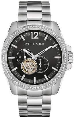 Wittnauer Men's Steel Bracelet & Case Automatic Dial Analog Watch WN3029