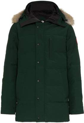 Canada Goose Carson fur trim hooded coat