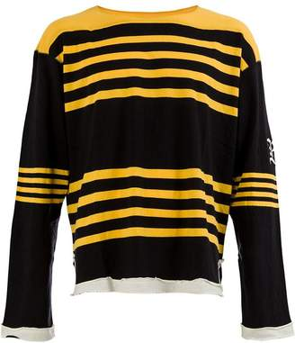 Undercover stripe sweatshirt