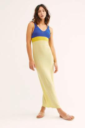 The Endless Summer Fp Beach Color-Blocked Maxi Dress