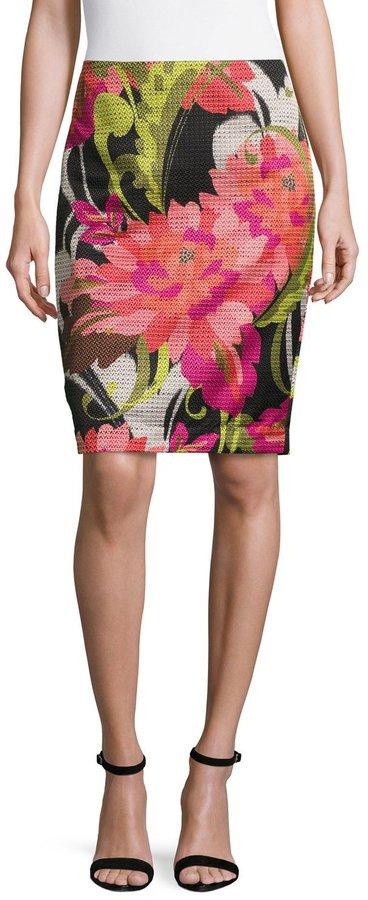 Trina Turk Chrissy Floral-Print Skirt, Multi
