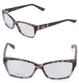 Gucci 51MM Square Optical Glasses