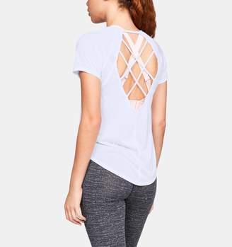 Under Armour Women's UA Whisperlight Strappy Back Short Sleeve