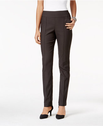 Style & Co. Pull-On Seamfront Skinny Pants, Only at Macy's $49.50 thestylecure.com