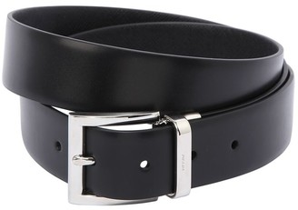 Prada 33mm Reversible Saffiano Leather Belt