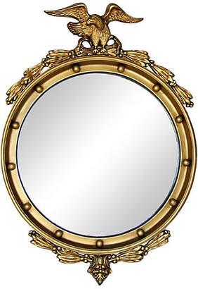 One Kings Lane Vintage Federal Eagle Gold Giltwood Mirror
