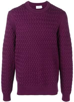 Calvin Klein pattern knitted sweatshirt