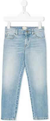 Gucci Kids stonewashed denim trousers
