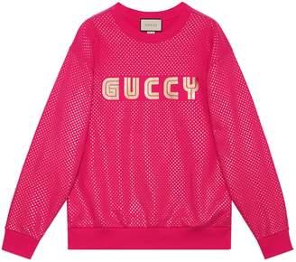 Gucci Oversize sweatshirt with Mystic Cat