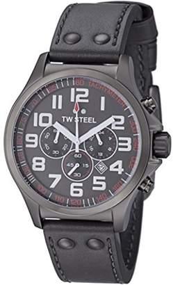 TW Steel Pilot Watch Quartz Chronograph XL Leather TW - 422