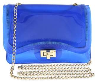 Capelli New York LED Light-Up Jelly Crossbody Bag
