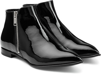 Marc by Marc Jacobs Blake Patent Leather Ankle Boots $388 thestylecure.com