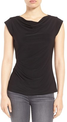 Women's Anne Klein Cowl Neck Shell $59 thestylecure.com