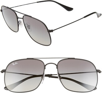 Ray-Ban 56mm Gradient Square Sunglasses