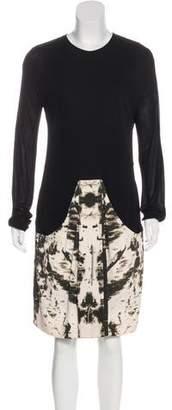 Akris Printed Knee-Length Dress