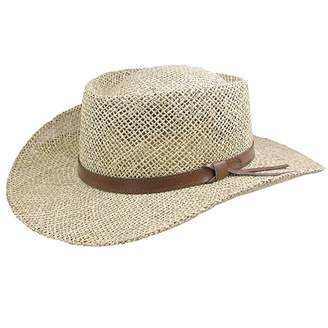 Stetson Gambler Seagrass Outdoorsman Hat