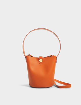 Sophie Hulme The Swing Bag in Clementine Cow Leather