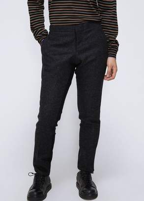 Thom Browne Low Rise Skinny Side Tab Trouser