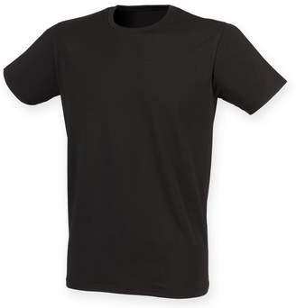 Skinni Fit Men Mens Feel Good Stretch Short Sleeve T-Shirt (L)