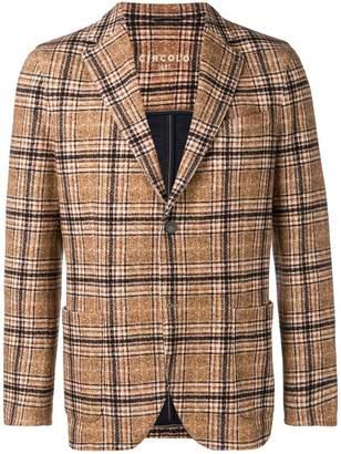 1901 Circolo tartan pattern blazer