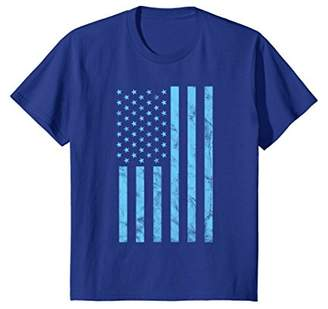 Distressed American Flag Shirt Patriotic USA 4th of July