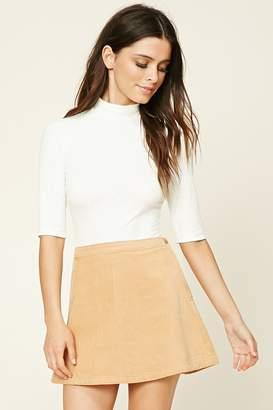 Forever 21 Corduroy Mini Skirt
