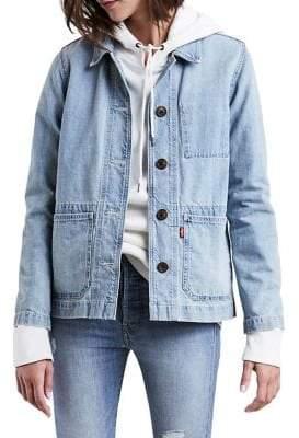Levi's Workwear Chore Day Denim Coat