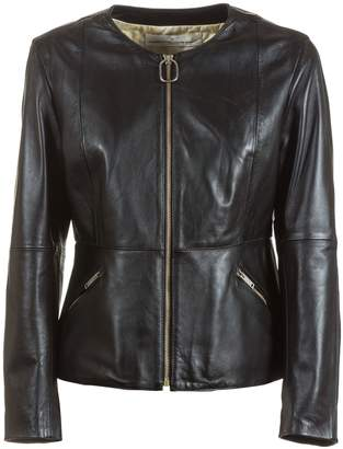 Golden Goose Santana Leather Jacket