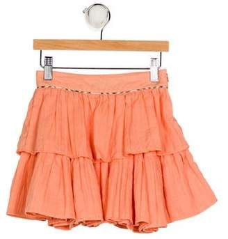 Burberry Girls' Tiered Skirt