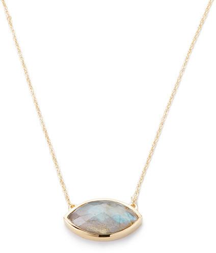 Margaret Elizabeth - Mini Bahia Necklace Labradorite