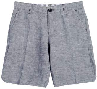 Armani Junior Linen & Cotton Blend Shorts